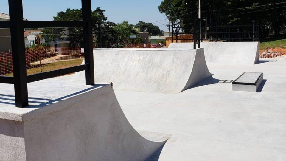 Pista de skate Condomínio Ibi Aram I