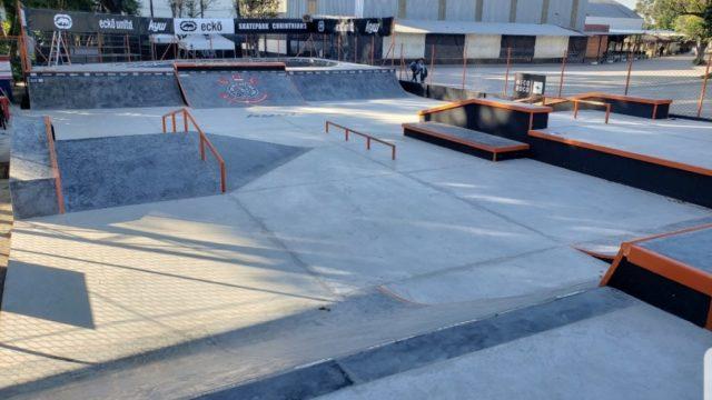 Corinthians Skatepark Finalizada