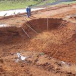 Escavação bowl skate